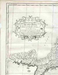 Province XII. Quang-Tong, drawn on the Spot by the Peres de Tartre & Cordoso, in the Year 1714 with… by  Jean Baptiste [China] Du Halde - 1738 - from Antipodean Books, Maps & Prints (SKU: 16233)