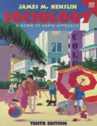 image of Sociology: A Down-to-Earth Approach Census Update (paperback version) (10th Edition)