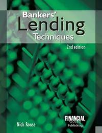 Bankers' Lending Techniques by C.N. Rouse - Paperback - from World of Books Ltd (SKU: GOR001365278)