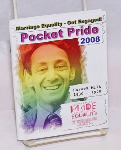 San Francisco: SF Pride, 2008. Magazine. 602p., 4.25x5.25 inches, photos, ads, programme, informatio...