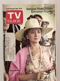 image of Tv Guide Sept. 20 1975 Vol. 23 No. 38 Issue #1173 [barbara Walters Visits  European Royalty / Barbara Walters]