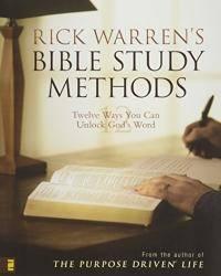image of Rick Warren's Bible Study Methods