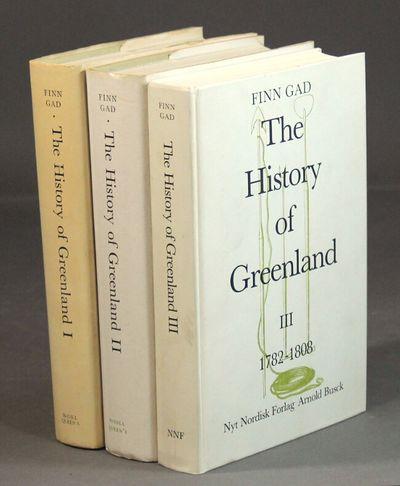 Montreal, Canada: McGill-Queen's University Press, 1982. First edition in English, 8vo, 3 vols., cov...