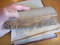 Fore-Edge Painting Of Piccadilly (In) A Philosophical Enquiry Into The Origin Of Our Ideas Of The Sublime And Beautiful. With An Introductory Discourse Concerning Taste, And Several Other Additions