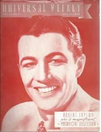 image of Universal weekly magazine: vol.37, no.21 1935 Dec. 21. Robert Taylor