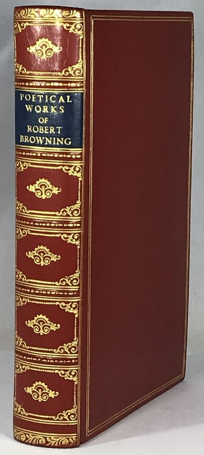 London: Oxford University Press, 1967. Deluxe Edition. Full Leather. Very Fine. 8vo, xiv, 698pp. Bou...