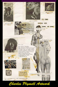 NADA: Original Collage Artwork by Charles Plymell, Created & Completed at 1403 Gough St., San...