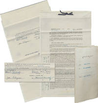 image of Original Book Contract for