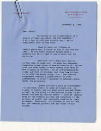image of Archive of correspondence between producer Leland Hayward and Daniel Selznick regarding