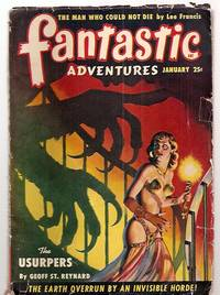 FANTASTIC ADVENTURES JANUARY 1950 VOLUME 12 NUMBER 1 by  et al] [cover by Ramon Naylor]  Berkeley Livingston - Paperback - First Edition - 1950 - from biblioboy (SKU: 58821)