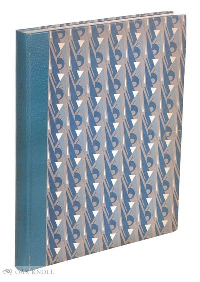 Columbia, SC and Bloomfield, MI: Bruccoli Clark, 1982. quarter leather, patterned paper-covered boar...