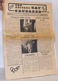 image of Chicago Gay Crusader: the total community newspaper; #12, May 1974: Crusader Wins Oscar