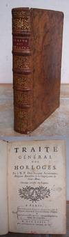 TRAITE GENERAL DES HORLOGES.