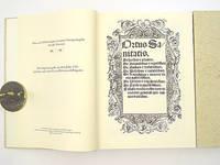 Faksimile - [H]Ortus sanitatis. Ortus sanitatis. De herbis et plantis. De animalibus et...