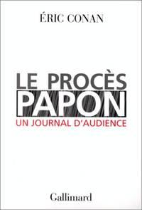 Le Procès Papon  un journal d'audience