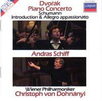 image of Andras Schiff performs Dvorak Piano Concerto & Schumann Introduction and Allegro Appassionato [COMPACT DISC]