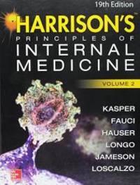 Harrison's Principles of Internal Medicine 19/E (Vol 2 Standalone)