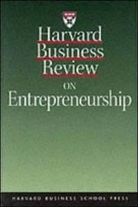 Harvard Business Review on Entrepreneurship