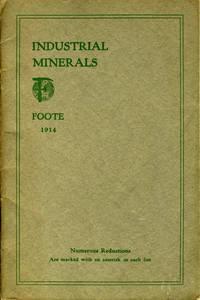 """Industrial Minerals"".  Pamphlet with Western Australia meteorite"