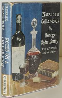 [COOKERY] [WINE] NOTES ON A CELLAR-BOOK