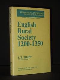 English Rural Society 1200-1350