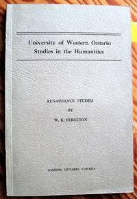image of Renaissance Studies
