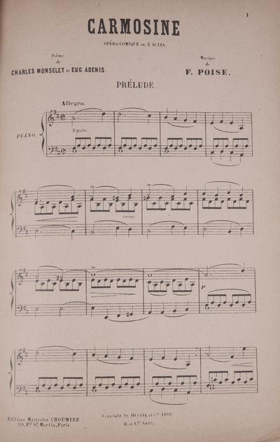 : , 1892. Large octavo. Plain light gray wrappers. viii, 57, (58-60) pp., 1f. (blank), 61-193, (blan...