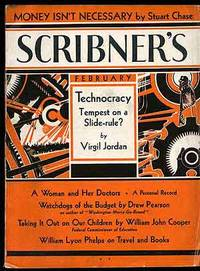 New York: Scribner's, 1933. Softcover. Very Good. Vol. XCIII, no. 2. Very good in wrappers with the ...