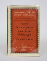 image of English Literature at the Close of The Middle Ages