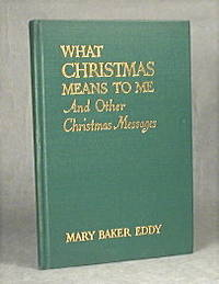 image of What Christmas Means To Me And Other Christmas Messages