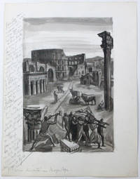 L'Eau romaine, illustrations d'Albert Decaris