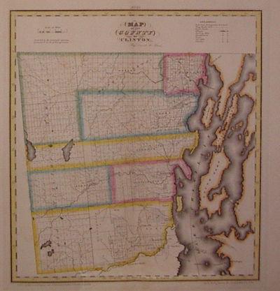 New York: DeWitt, Simeon, 1829. unbound. very good(+). Rawdon Clark & Co.. Map. Copper plate engravi...