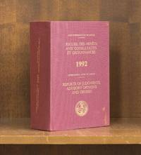 Reports of Judgments, Advisory Opinions and Orders. 1992 (2 books)