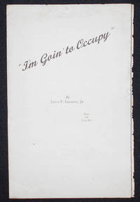 image of I'm Going' to Occupy [sheet music]