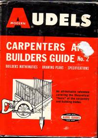 image of Audels Carpenters And Builders Guide No. 2