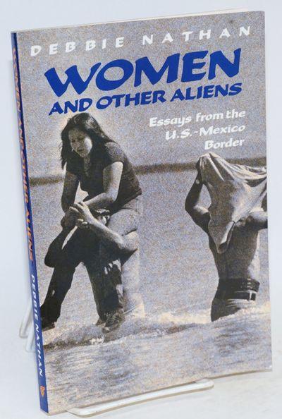 El Paso: Cinco Puntos Press, 1991. Paperback. 167p., very good first edition trade paperback in pict...