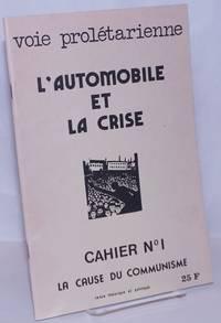 image of L'automobile et la crise