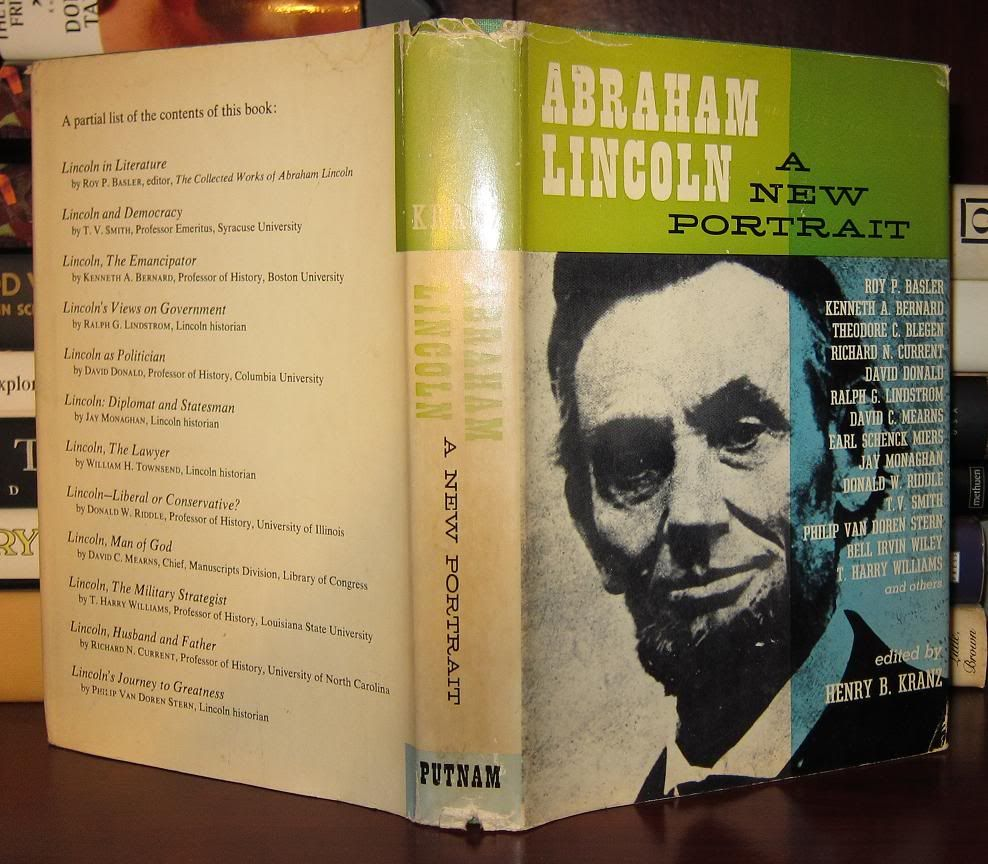Abe Lincoln Books: ABRAHAM LINCOLN A New Portrait By Henry B.
