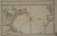 (Map of Eastern America and Atlantic Ocean): Carte De L'Ocean Occidental et Partie De L'Amerique Septentrionale..Charlevoix..fait En 1720