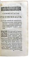 View Image 2 of 6 for Tentamina Quædam Physiologica Diversis Temporibus & Occasionibus conscripta. Cum ejusdem Historia F... Inventory #M14137