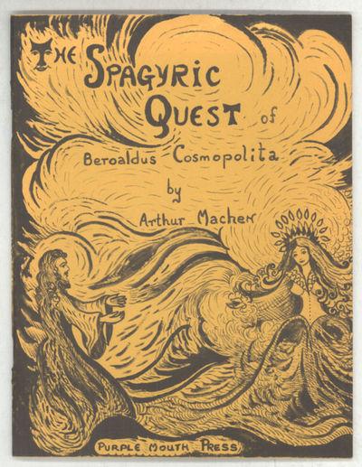 Newport News, Virginia: Purple Mouth Press, 1976. Octavo, pp. -22, illustrations by Mae Strelkov and...
