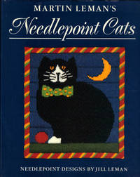 image of MARTIN LEMAN'S NEEDLEPOINT CATS