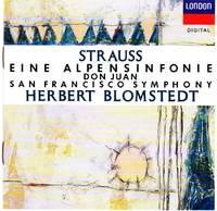 image of An Alpine Symphony, Op. 64 & Don Juan, Op. 20 [COMPACT DISC]