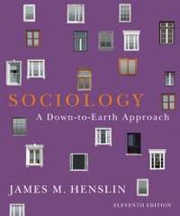image of Sociology: A Down-to-Earth Approach (11th Edition)