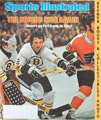 image of Sports Illustrated Magazine, May 9, 1977 (Vol 46, No. 20) : The Bruins  Rise Again - Cheevers and Park Ground the Flyers