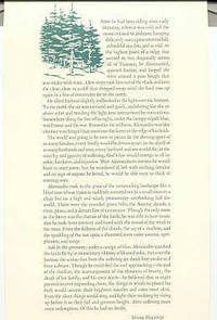 NY: Harcourt Brace Jovanovich, 1991. First edition. Illustrated broadside aprx 7 X 14 inches. Five p...