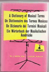 image of A Dictionary of Musical Terms in Four Languages
