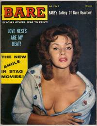 """Bare [""""Exposes Others Fear to Print!""""] - 1959 - Vol. 1 No. 2 [VINTAGE MEN'S MAGAZINE]"""