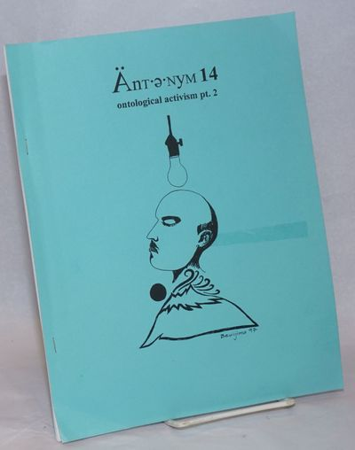 San Francisco: Bathysphere Press, 1997. 51p., professionally printed double-sided but cheaply copysh...
