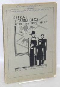 Comparative study of rural relief and non-relief households